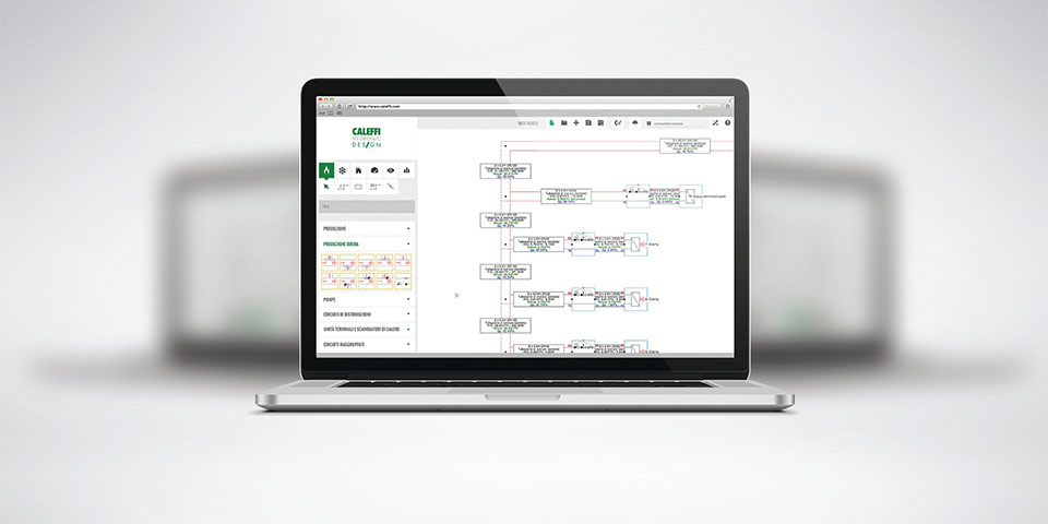 Caleffi Hydronic Design (CHD) software en berekeningstools.